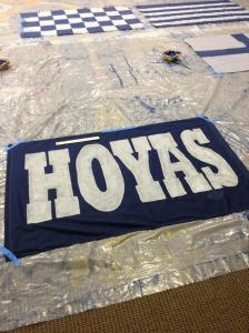 Hoyas Flag
